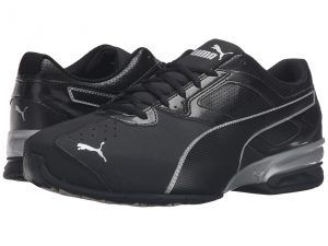 PUMA Tazon 6 Wide FM (Puma Black/Puma Silver) Men's Lace up casual Shoes