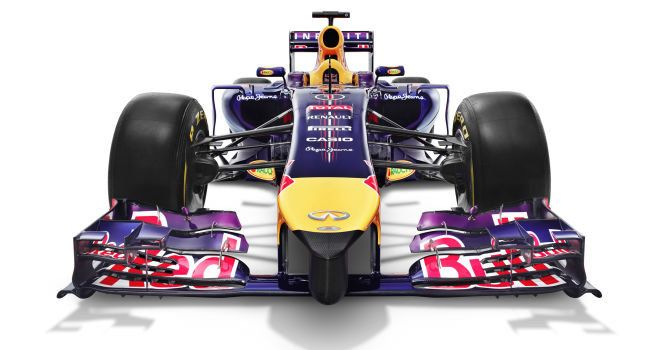 Red Bull unveil the RB10, the car they hope will lead them to a fifth straight title