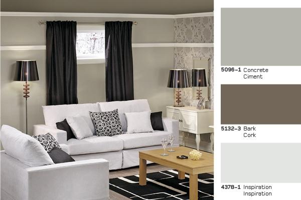 The perfect #palette for your #basement. | La palette parfaite pour votre sous-sol. #sous_sol #paint #peinture