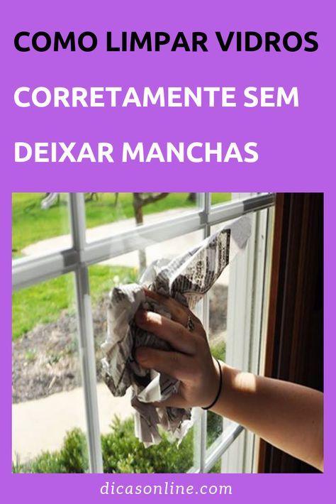 Aprenda a limpar o vidro de 8 maneiras diferentes para evitar manchas   – Tarefa de Casa