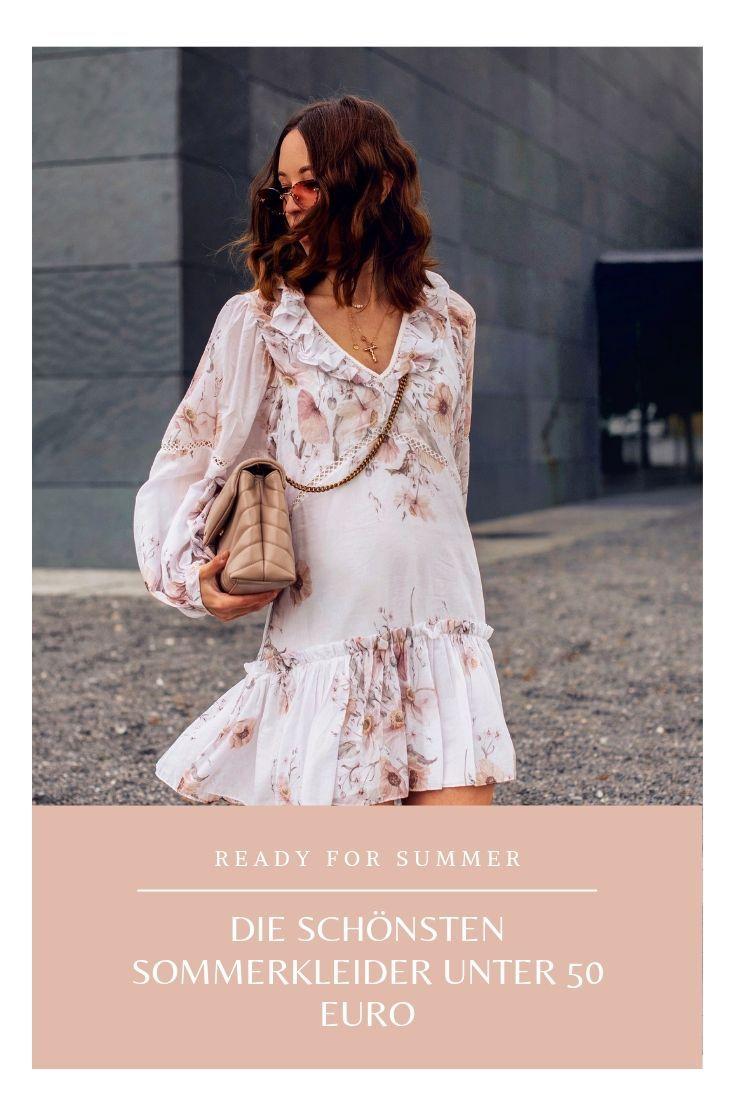 die schönsten sommerkleider unter 50 euro für den sommer