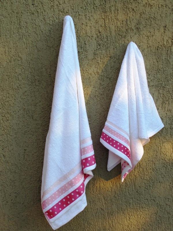 Points Towel Set Pink - pennie.gr