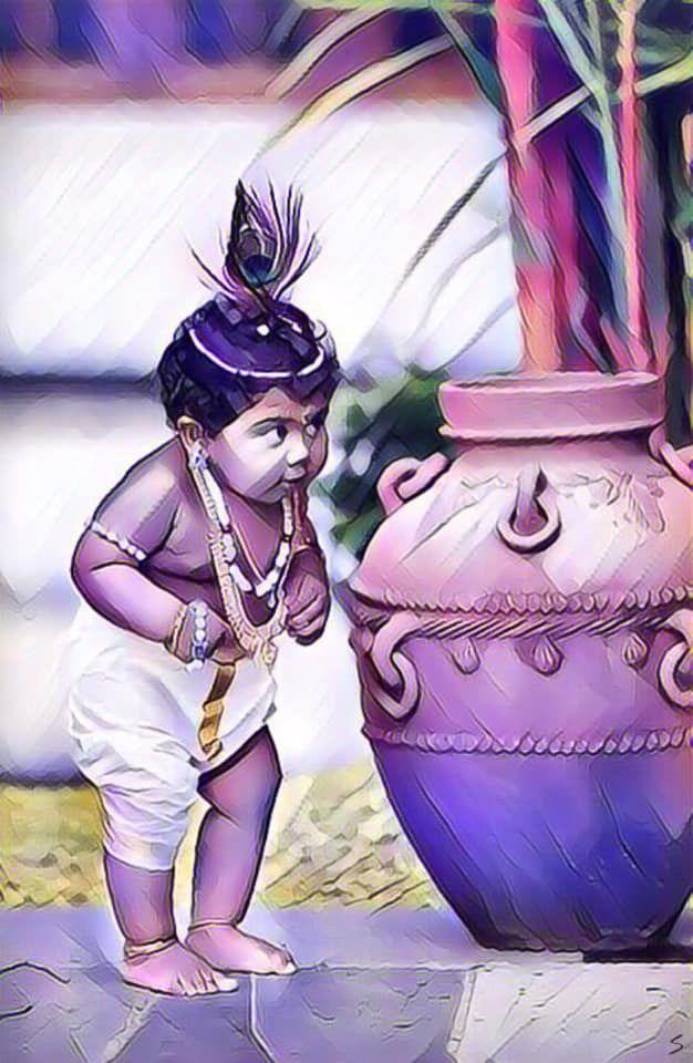 Pin By Adam On Kahna Krishna Radha Painting Cute Krishna Krishna Art
