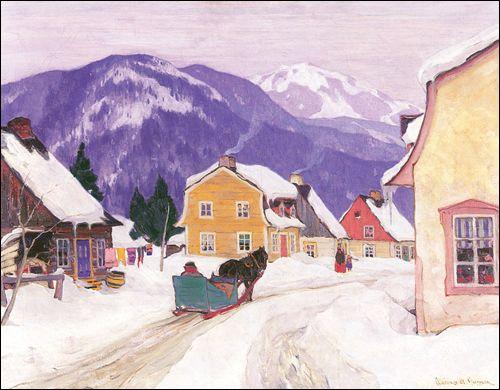 Laurentian Village /Clarence Gagnon