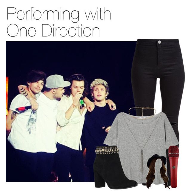 """Performing with One Direction"" by werehazza ❤ liked on Polyvore featuring New Look, MANGO and KG Kurt Geiger"