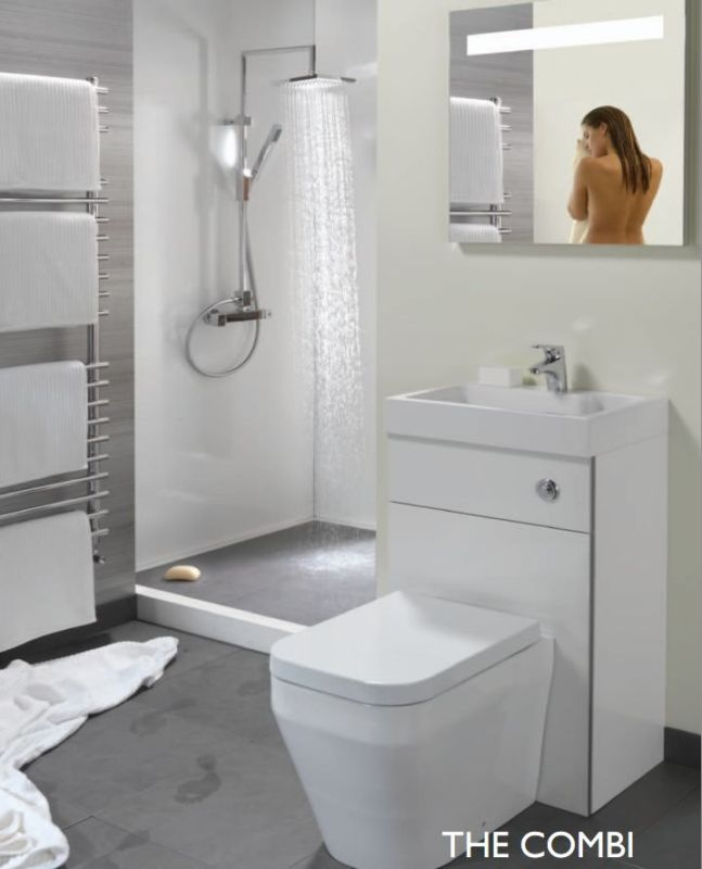1000 Images About Space Saving Bathrooms On Pinterest