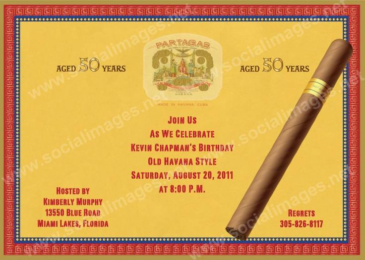 Cuban themed cigar box invitation cuban pinterest for Cigar box wedding invitations