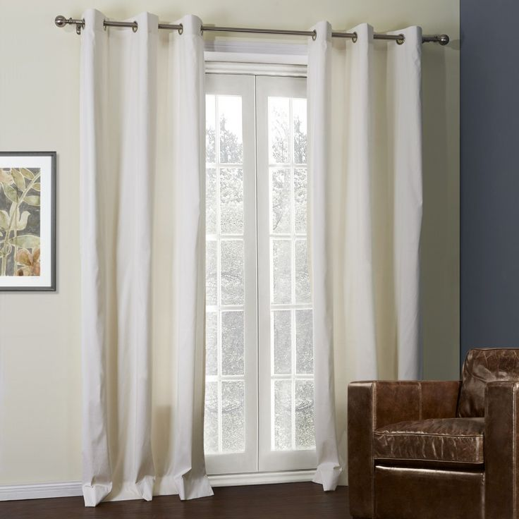 Off-White Solid Thermal Curtain  #curtains #homedecor #decor #homeinterior #interior #design #custommade