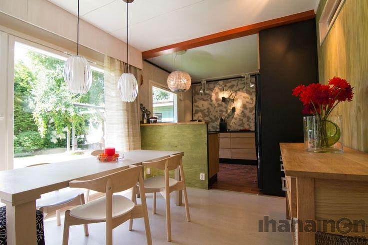 Ihanainen.com sisustussuunnittelu. Ateljee-kodin keittiön tunnelmaa. #keittiö #kitchen #sisustussuunnittelu #sisustus #tampere
