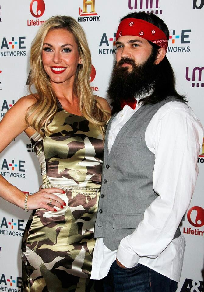 jep and jessica rockin the duck commander dress - Jase Robertson Halloween Costume