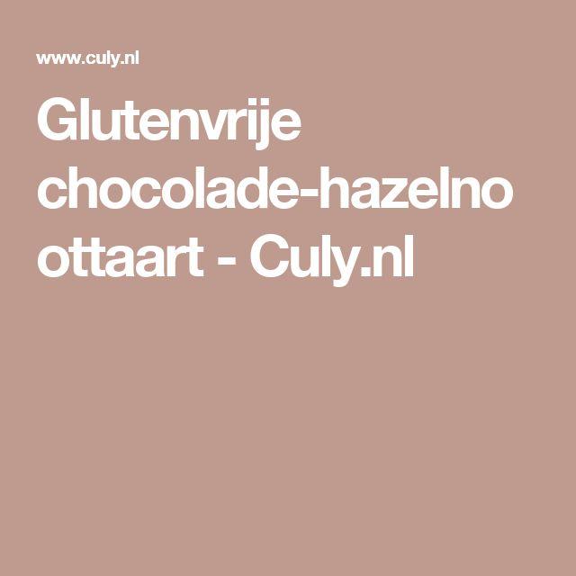 Glutenvrije chocolade-hazelnoottaart - Culy.nl