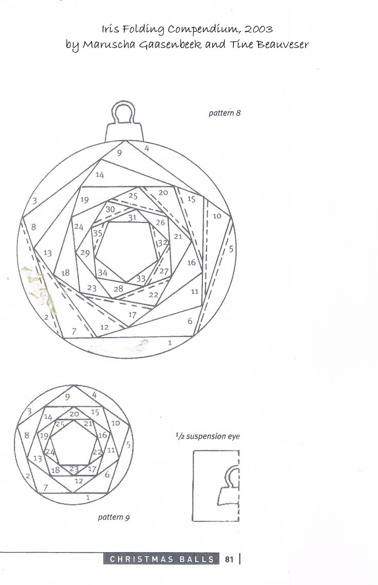 Iris Folding Patterns Free Printables | ... made using a basic Iris Folded circle pattern and can be found HERE