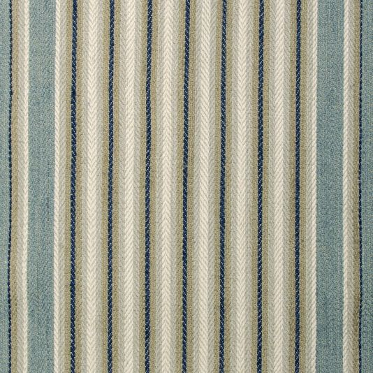 Dart Stripe Upholstery Fabric Large Scale Heavy Weight