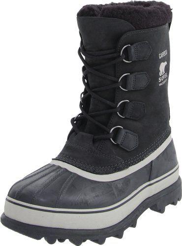 Sorel Men's Caribou Buff Winter Boot Black Tusk 11 M US - http://authenticboots.com/sorel-mens-caribou-buff-winter-boot-black-tusk-11-m-us/