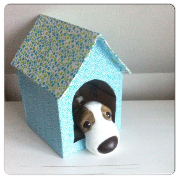 Hondenhok sinterklaas surprise www.sinterklaassurprises.jouwweb.nl