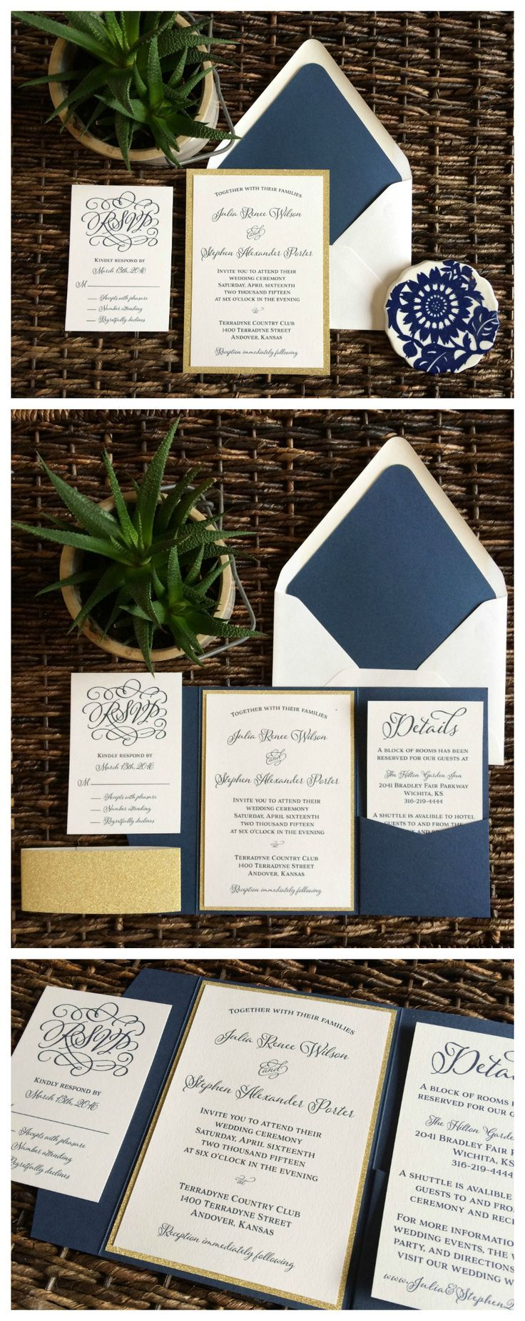 173 best Wedding Invitations by CZ Invitations images on Pinterest