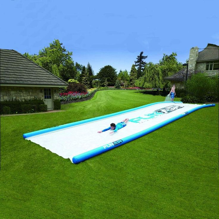 50-foot slip n' slide