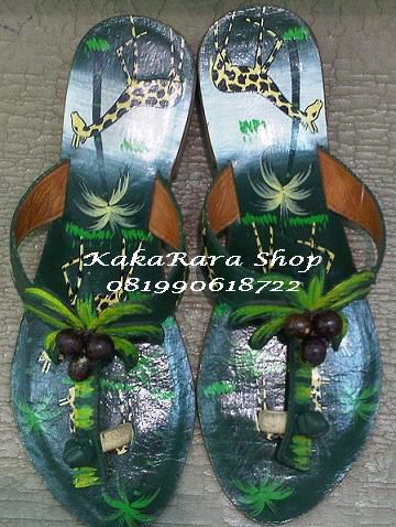 #Sandal Ethnic 3cm made in Bali-Indonesia#