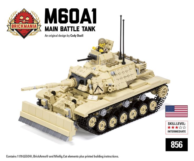 Brickmania.com sells custom Lego kits (tanks, aircraft, warships, etc.) designed by Daniel Siskind, custom molded weapons from BrickArms, and other quality after-market products for your Lego building needs.