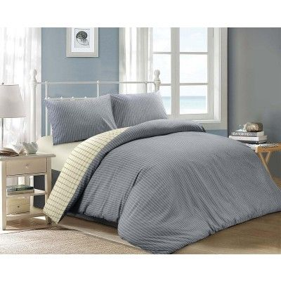 Jaipur Revesible Duvet Cover Set