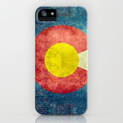 Colorado State Flag iPhone & iPod Case by Bruce Stanfield - $35.00