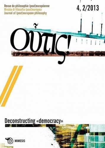 Prezzi e Sconti: #Outis! rivista di filosofia (post)europea  ad Euro 15.30 in #Libri #Libri