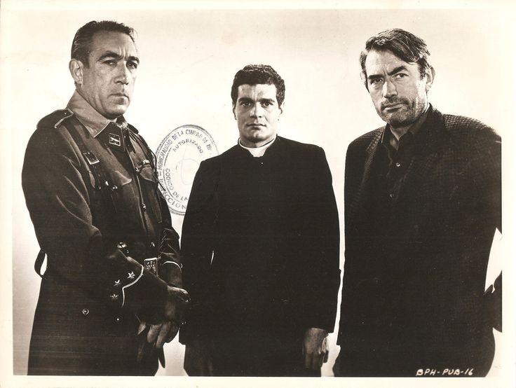 Anthony Quinn als Vinolas in Behold a Pale Horse (1964) met in de hoofdrollen Gregory Peck, Anthony Quinn en Omar Sharif.