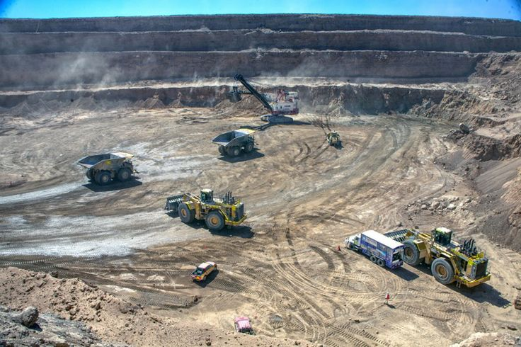 Codelco's Gabriela Mistral mining operation