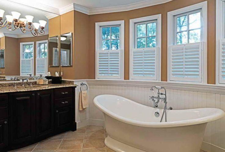 Small Bathroom Tile Floor Ideas ~ http://lovelybuilding.com/simple-and-beautiful-tile-designs-small-bathrooms/