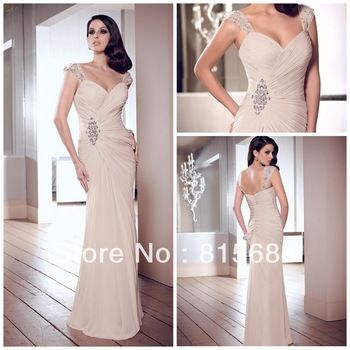 2014 MOTHER OF THE BRIDE DRESSES | 2014 Hot sale Mother of the bride dress SUmmer Fall winter Evening ...