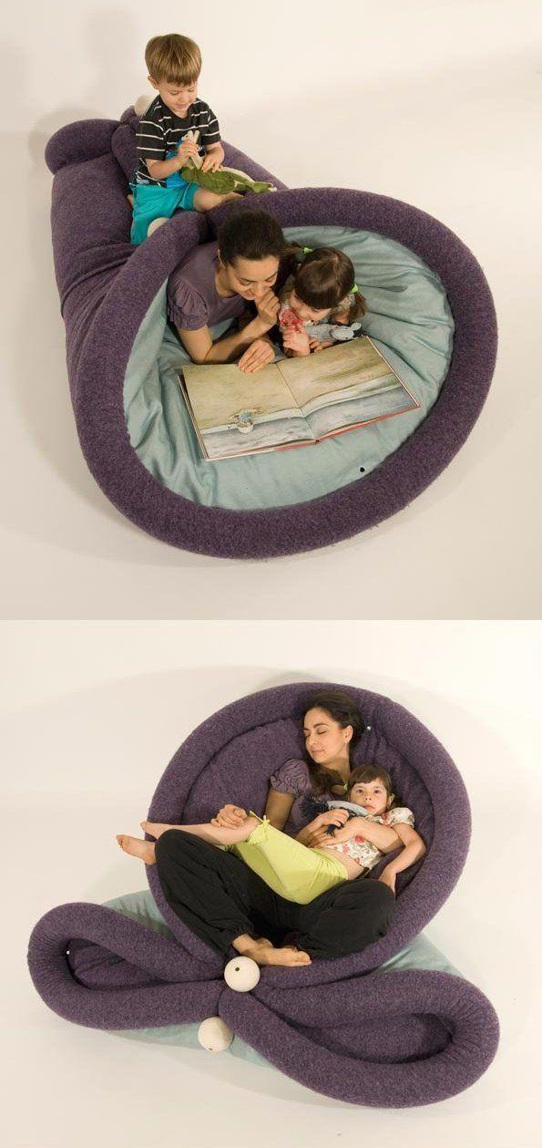Blandito, il divano multi uso super accogliente e rilassante. Ultra flessibile e trasformabile è il luogo ideale per spaparanzarsi in casa!