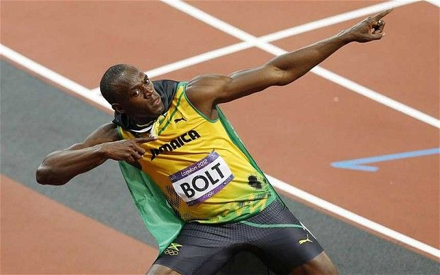 Usain Bolt wins men's 100m final in 9.63 seconds - a new Olympic record