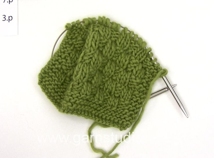 DROPS Knitting Tutorial: How to work after chart M.1 and M.2 in DROPS 109-14