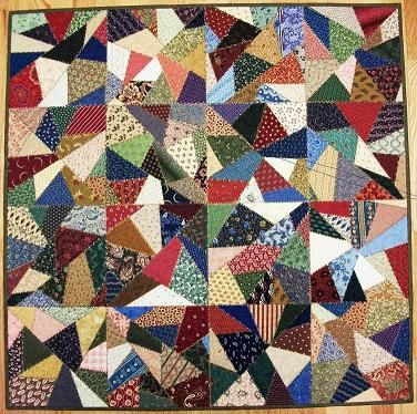 Free Crazy Patch Quilt Pattern Crazy Quilting Patterns