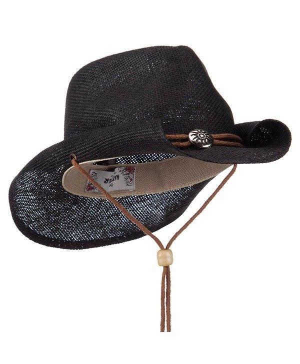 a003a5360 Hats & Caps, Men's Hats & Caps, Cowboy Hats, Fashion Straw Cowboy ...