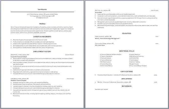 Nice Business Analyst Resume Resume Examples Internet - example of business analyst resume