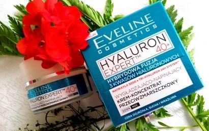 Eveline Hyaluron Expert krem-koncentrat przeciwzmarszczkowy 40+