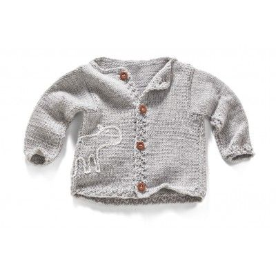 A warm and soft boy sweater made of the noble extra merinos 100% wool. A natural yarn provides for extra comfort every child will love. Fastened with wood pegs. Cuffs can be rolled; thus your child will be able to use the jumper longer. The under-arm section are slightly wider which makes it easy impatient kids for to put the sweater on. A funny hors appliqué will cheer up the mother and the child.