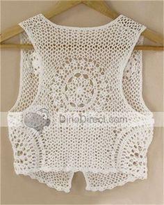 CROCHET A VEST   Crochet For Beginners Inspiracion ༺✿ƬⱤღ http://www.pinterest.com/teretegui/✿༻