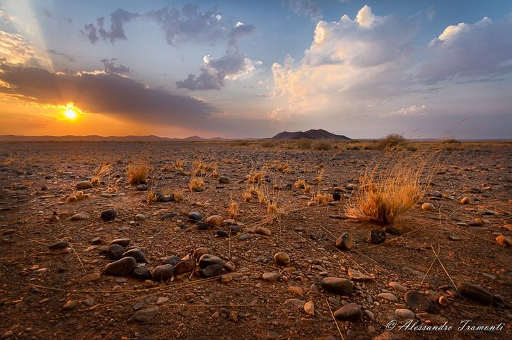 Namibian Sunset by Alessandro Tramonti on 500px