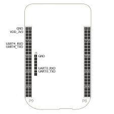 Image result for beaglebone black serial port pinout
