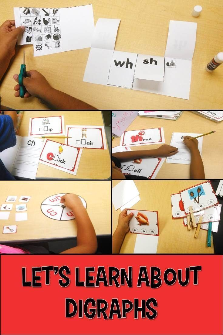 Phonics/Beginning Digraphs:  These activities/games are great to use as a small group lesson for practicing digraphs or independent practice used within a word work/abc center.   This digraph packet includes activities/games, and a fun, interactive practice page for the digraphs sh, th, wh, and ch, as well as, a colorful classroom poster.