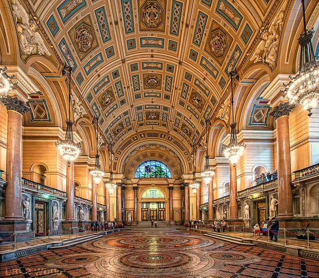 St George's Hall, Liverpool by Dave Wood Liverpool Images, via Flickr