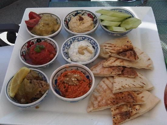 Middle Eastern Platter Recipe — Dishmaps