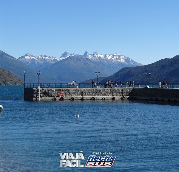 8- Lago Puego en la Provincia de Chubut