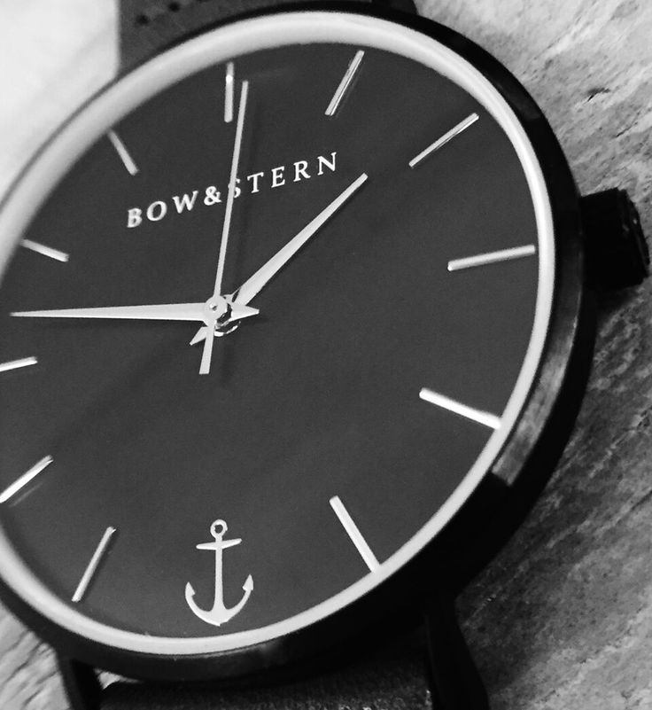 Join the crew and check us out on Kickstarter. The Castaway watch by Bow & Stern is dark and stormy with silver accents. Mix & match the bands to create a look of your own. @bowandsternofficial
