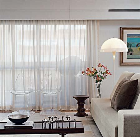 25+ einzigartige Cortina trilho Ideen auf Pinterest Trilho de - edle gardinen wohnzimmer 2