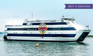 Groupon - $ 58 for a Casino Cruise with Lunch or Dinner and Slot Play for Two from Victory II ($114 Value)  in Mayport. Groupon deal price: $58