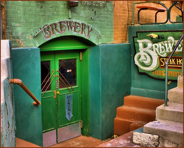 Brewery - Bisbee, Arizona I think this is the old St. Elmo's bar, if I remember correctly!