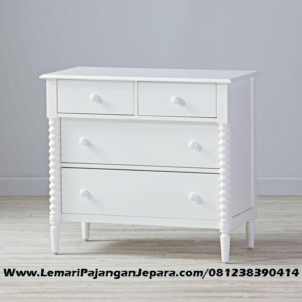 Jual Nakas Minimalis Ulir Cat Putih Duco merupakan Lemari Nakas Yang berguna untuk menyimpan barang barang anda dengan nyaman dan aman.